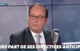 """Euthanasie – François Hollande va rédiger ses directives anticipées """"pour donner l'exemple"""""""