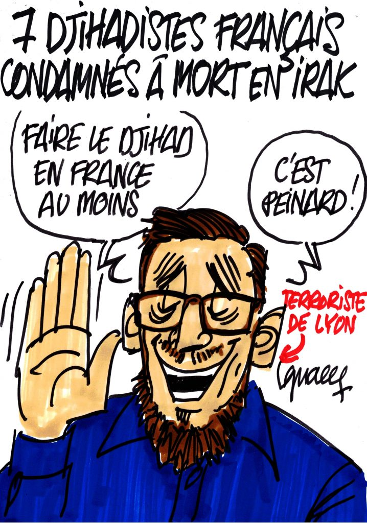 Ignace - Les Français de Daech condamnés à mort sont désormais sept