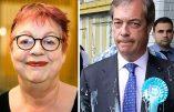 Appel à la violence lancé par une vedette de la télé contre les pro-Brexit