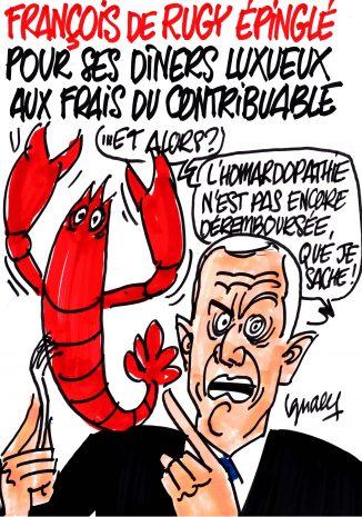 Ignace - De Rugy et le homard