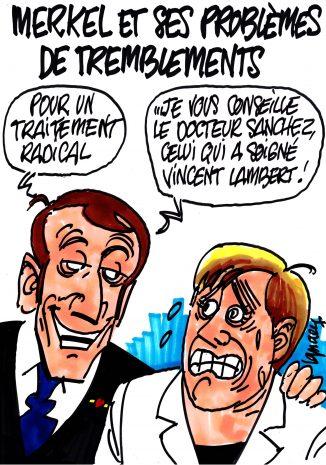 Ignace - Merkel et ses problèmes de tremblements
