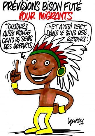 Ignace - Les prévisions Bison Futé pour migrants