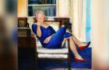 Un tableau de Bill Clinton travesti en femme a été retrouvé chez son ami le pédophile Jeffrey Epstein