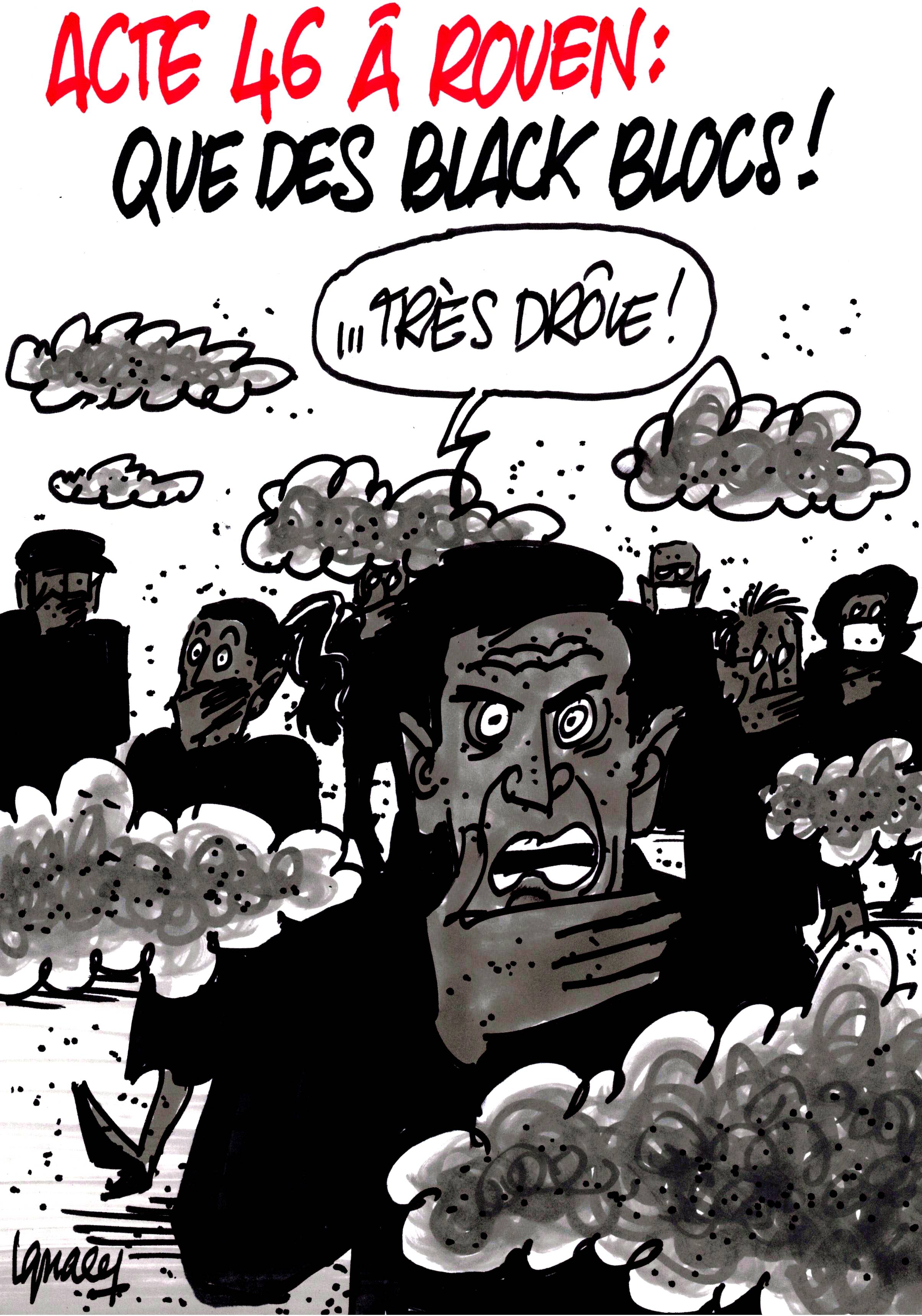 Ignace - Acte 46 à Rouen