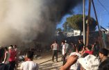 Émeute violente de migrants sur l'île grecque de Lesbos