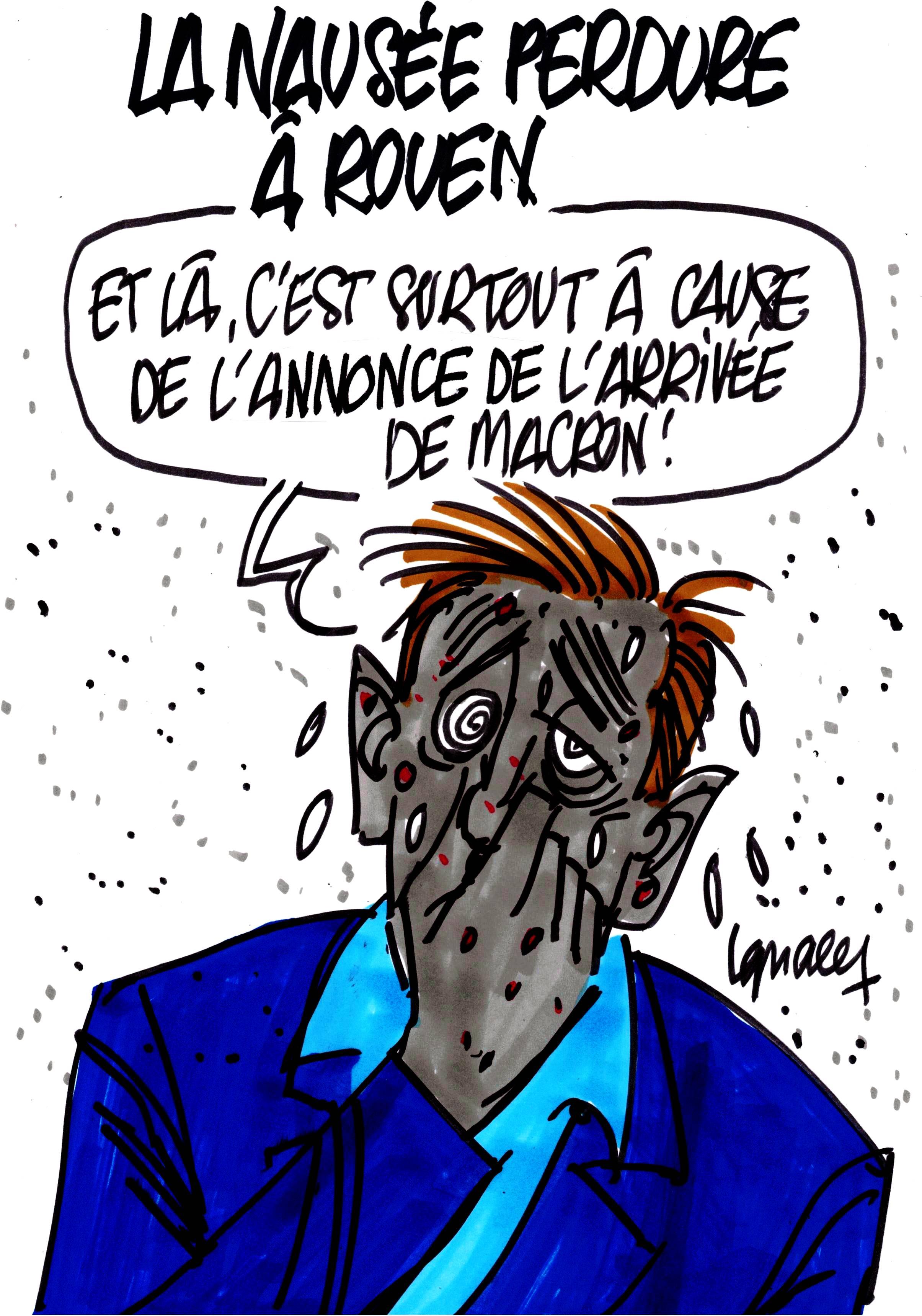 Ignace - La nausée perdure à Rouen