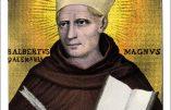 Vendredi 15 novembre 2019 – Saint Albert le Grand, Confesseur et Docteur de l'Eglise, « Il fut nommé à juste titre un pacificateur »