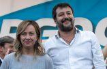 Italie: la Ligue premier parti,et le parti identitaire Fratelli d'Italia passe la barre de 10%