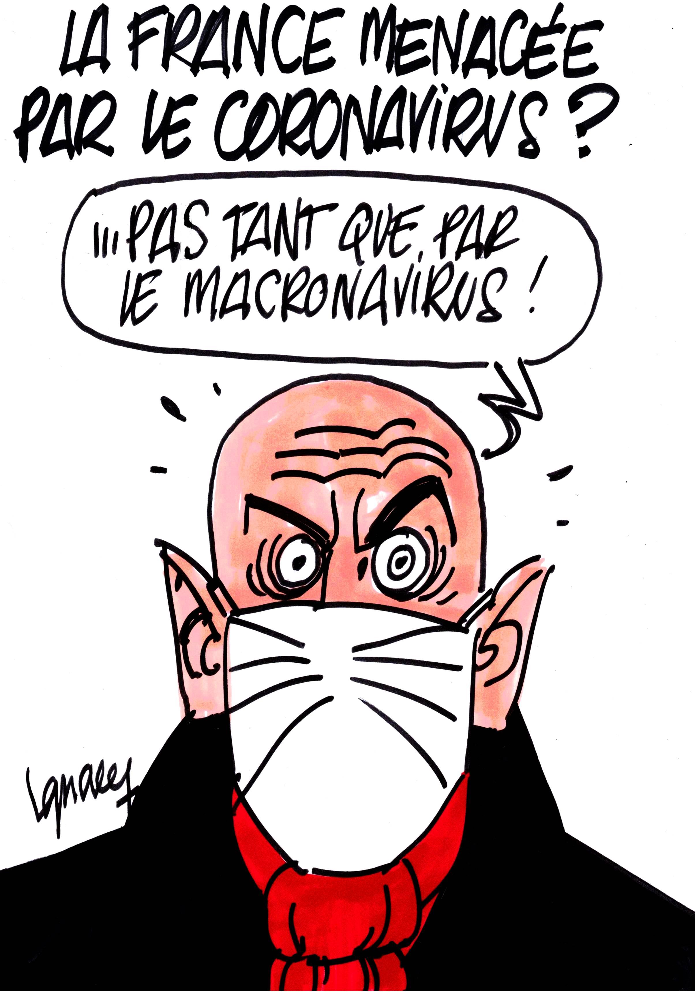 Ignace - La France menacée par le coronavirus ?