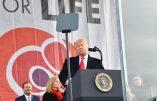 Discours historique de Donald Trump, premier président des Etats-Unis à participer à la Marche pour la Vie