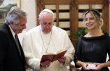 Communion et avortement, assistance pontificale pour l'avorteur péroniste