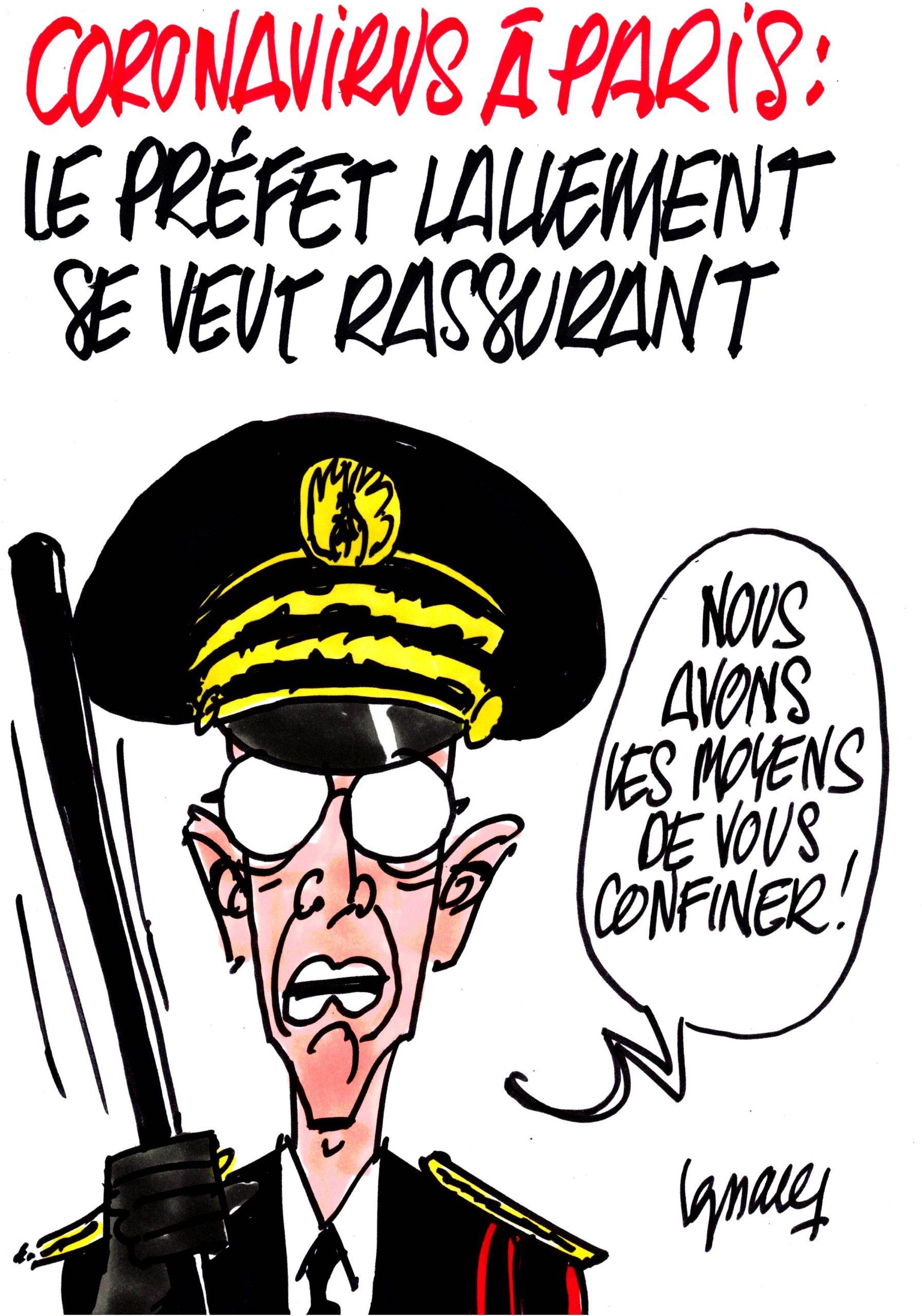 Ignace - Le préfet Lallement rassurant