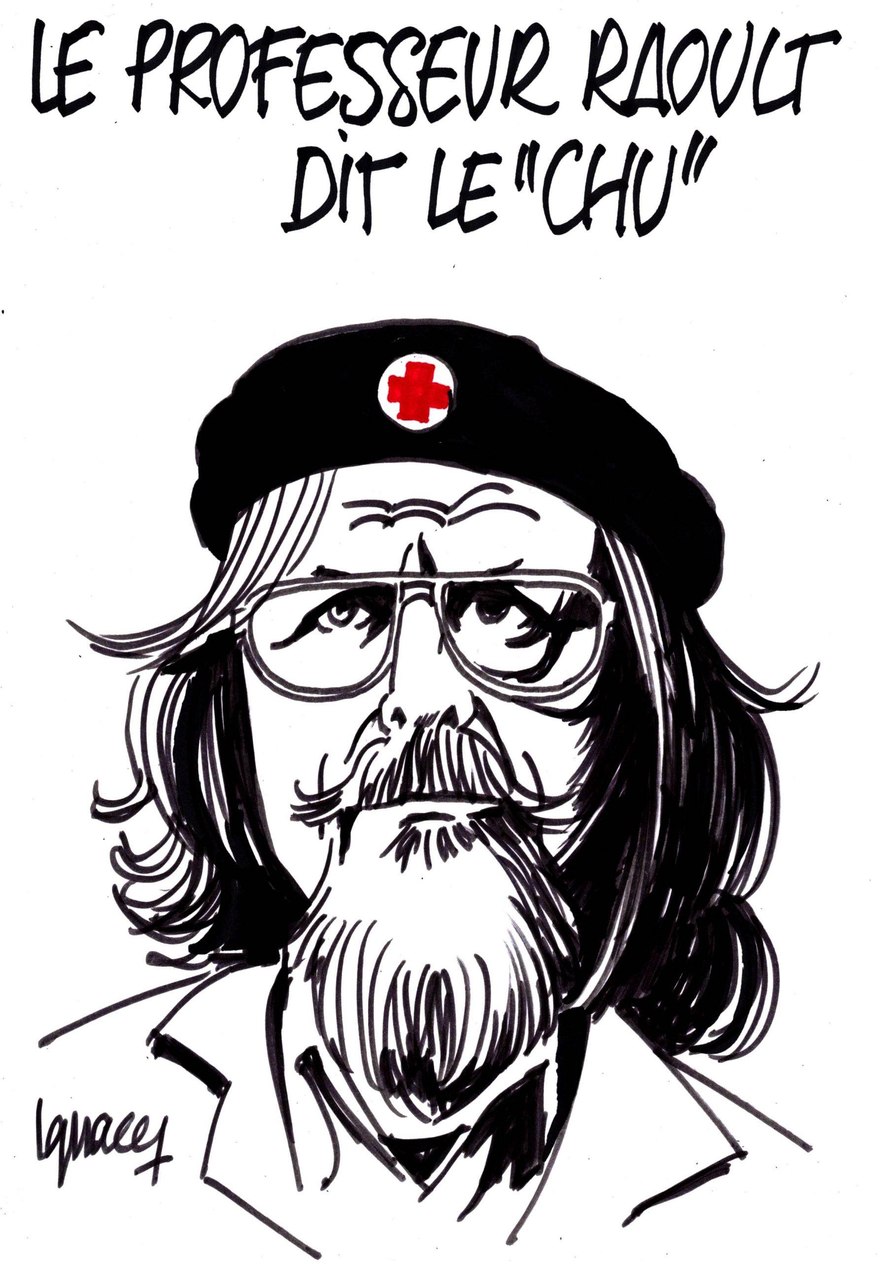 """Ignace - Professeur Raoult, dit le """"Chu"""""""