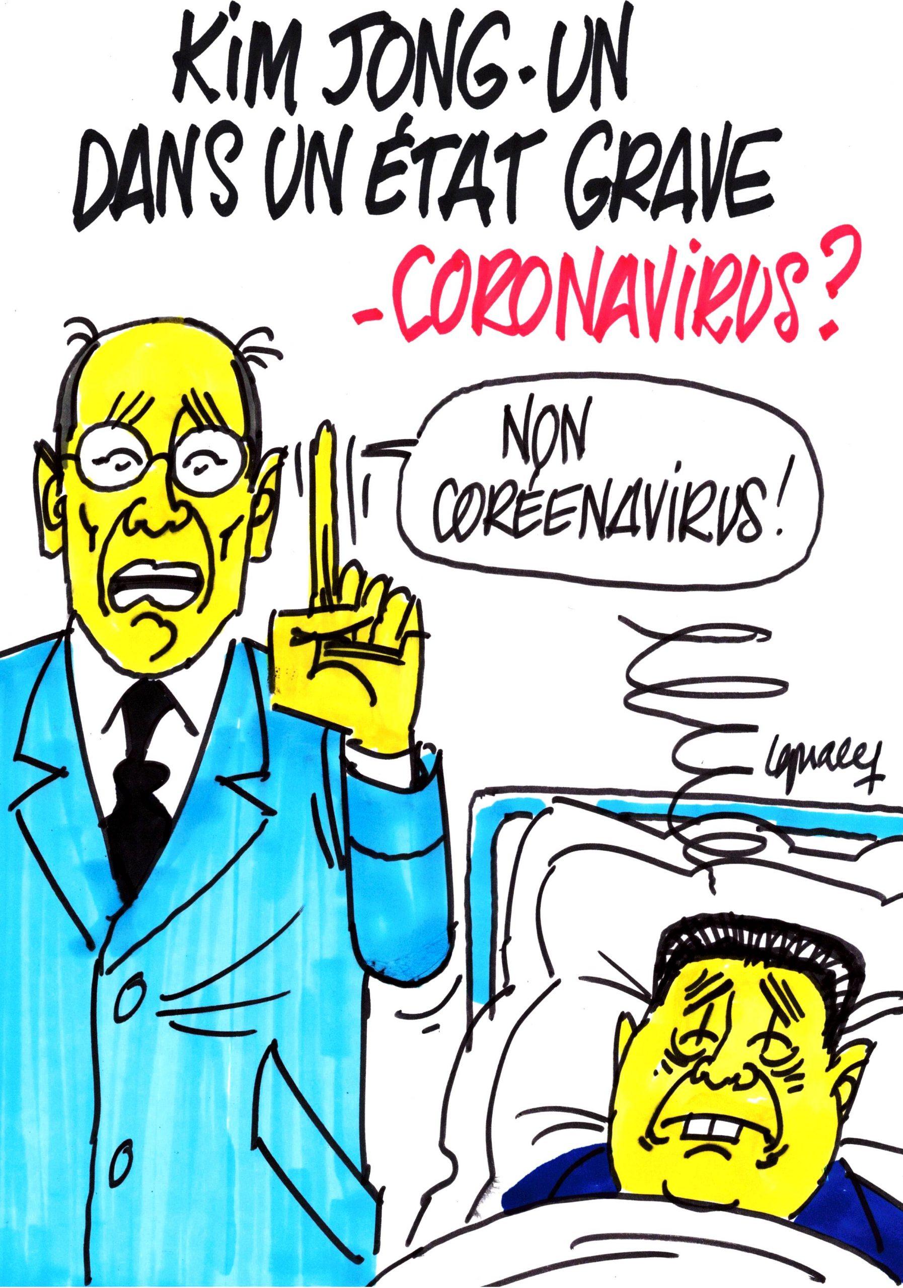 Ignace - Kim Jong-un malade, coronavirus ?