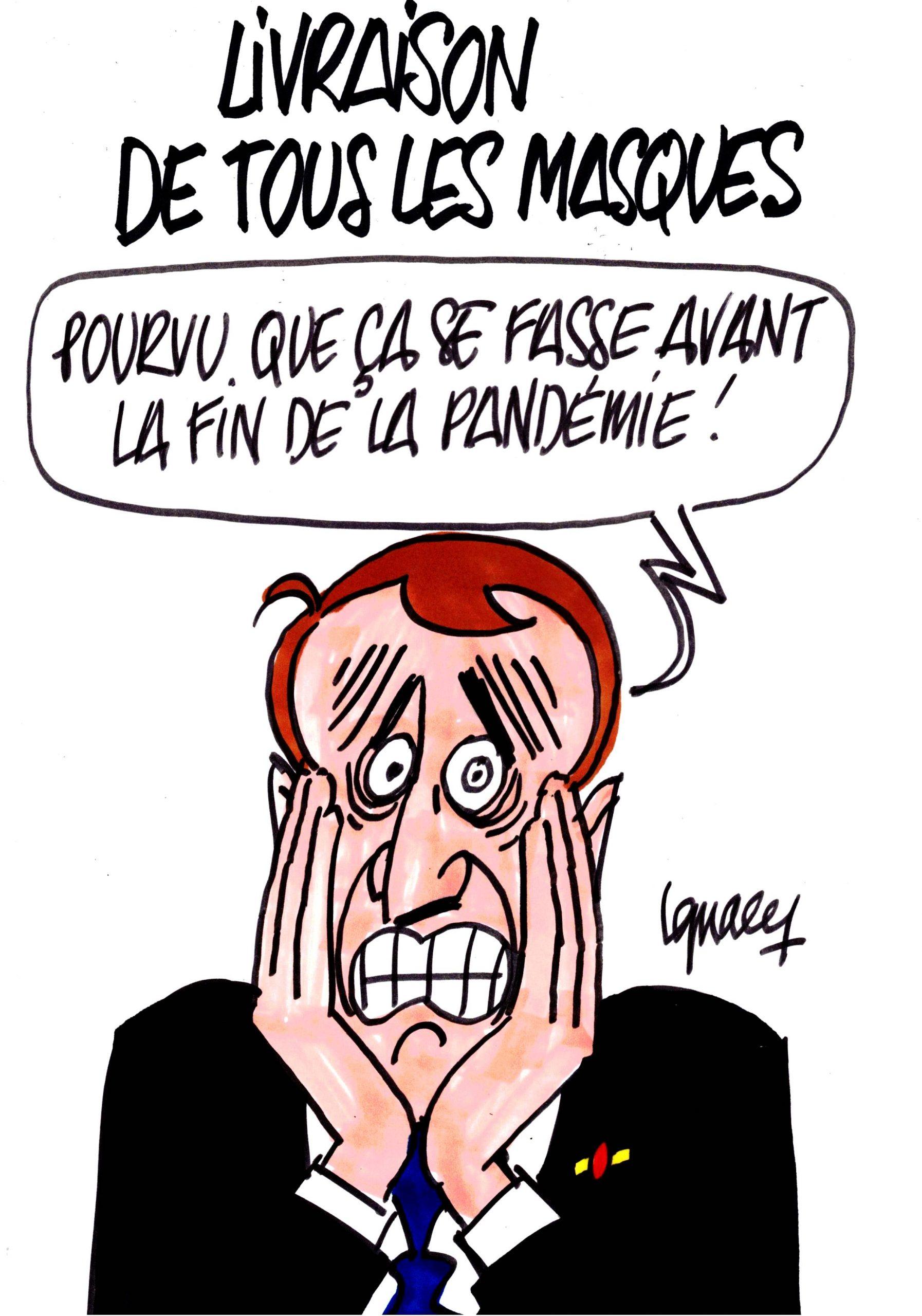 Ignace - Livraison des masques