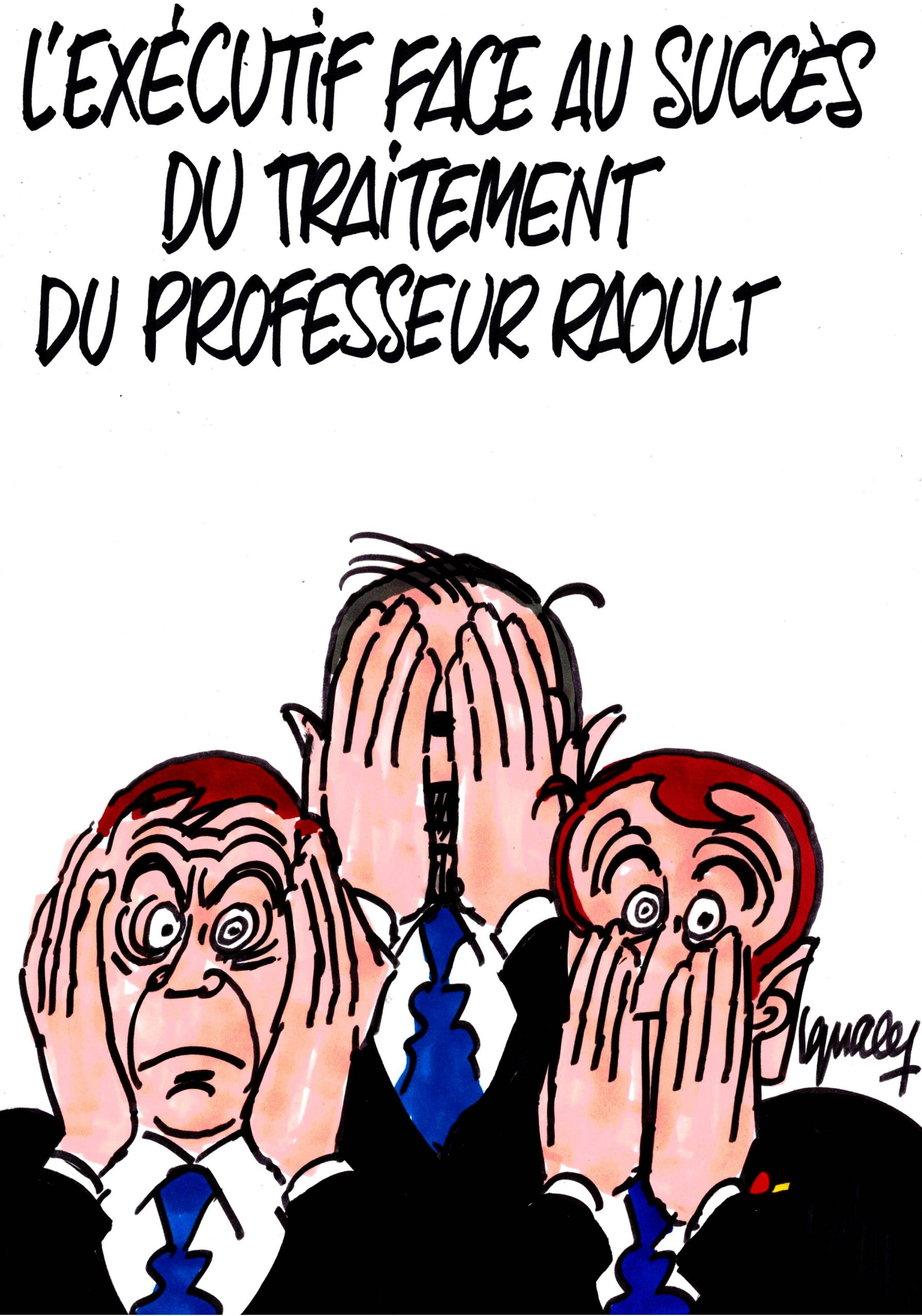 Ignace - L'exécutif face au succès du traitement du Professeur Raoult