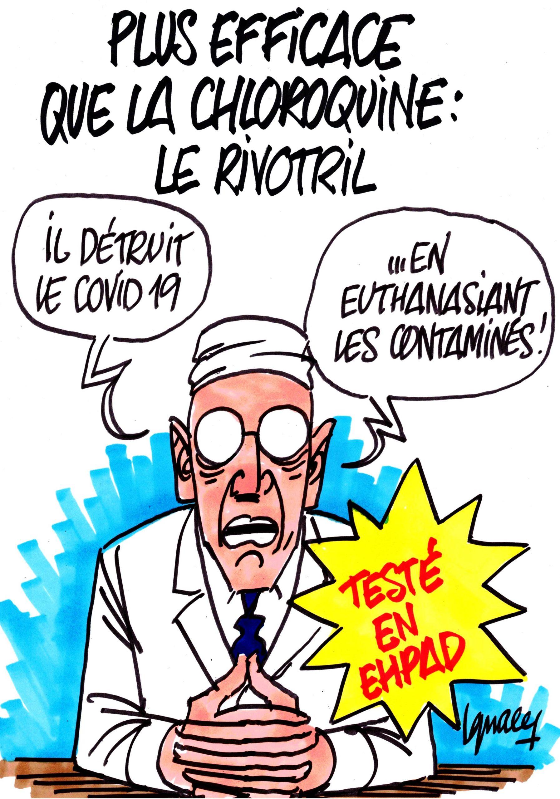 Ignace - Plus fort que la chloroquine, le rivotril
