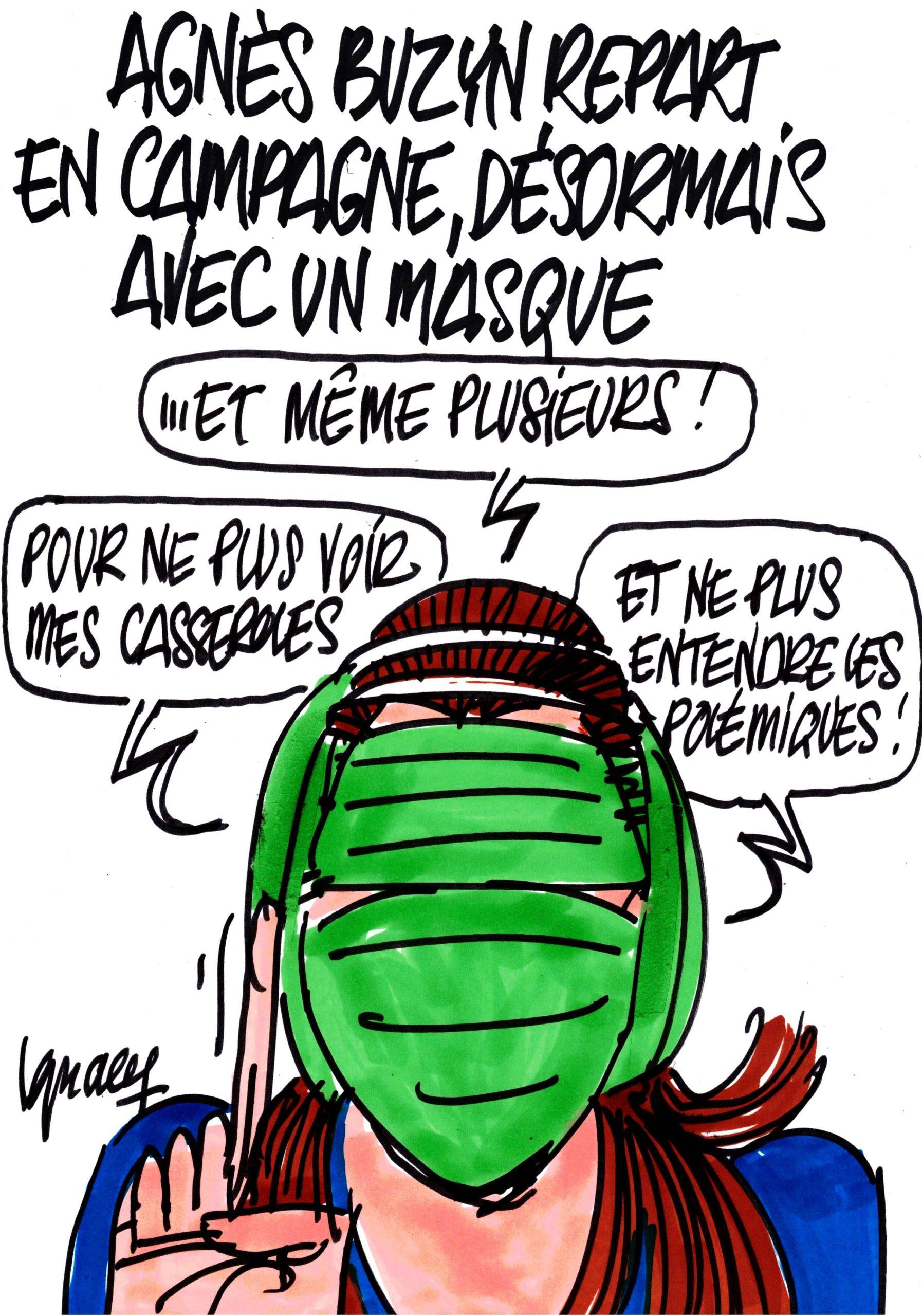 Ignace - Agnès Buzyn repart en campagne