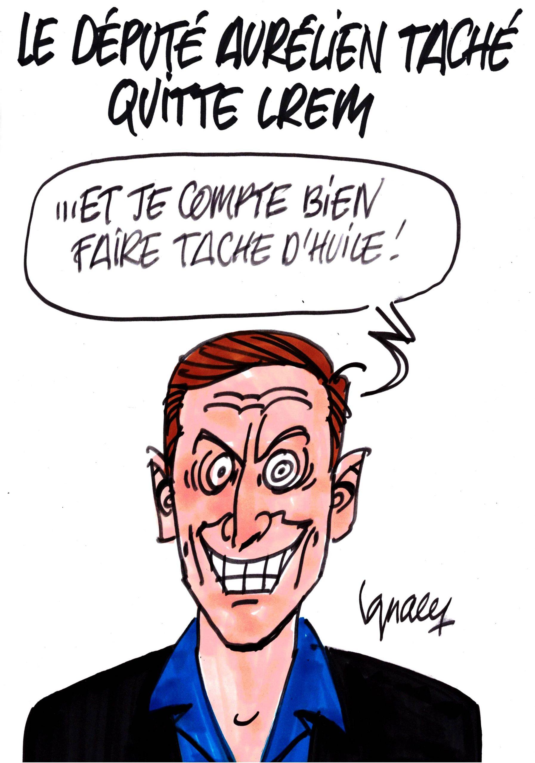 Ignace - Aurélien Taché quitte LREM