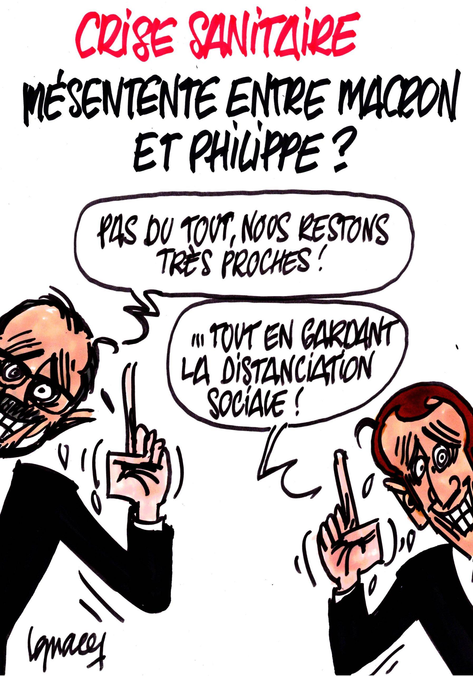 Ignace - Mésentente entre Macron et Philippe ?