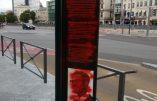 Bruxelles – Au tour du monument à Lumumba d'être vandalisé