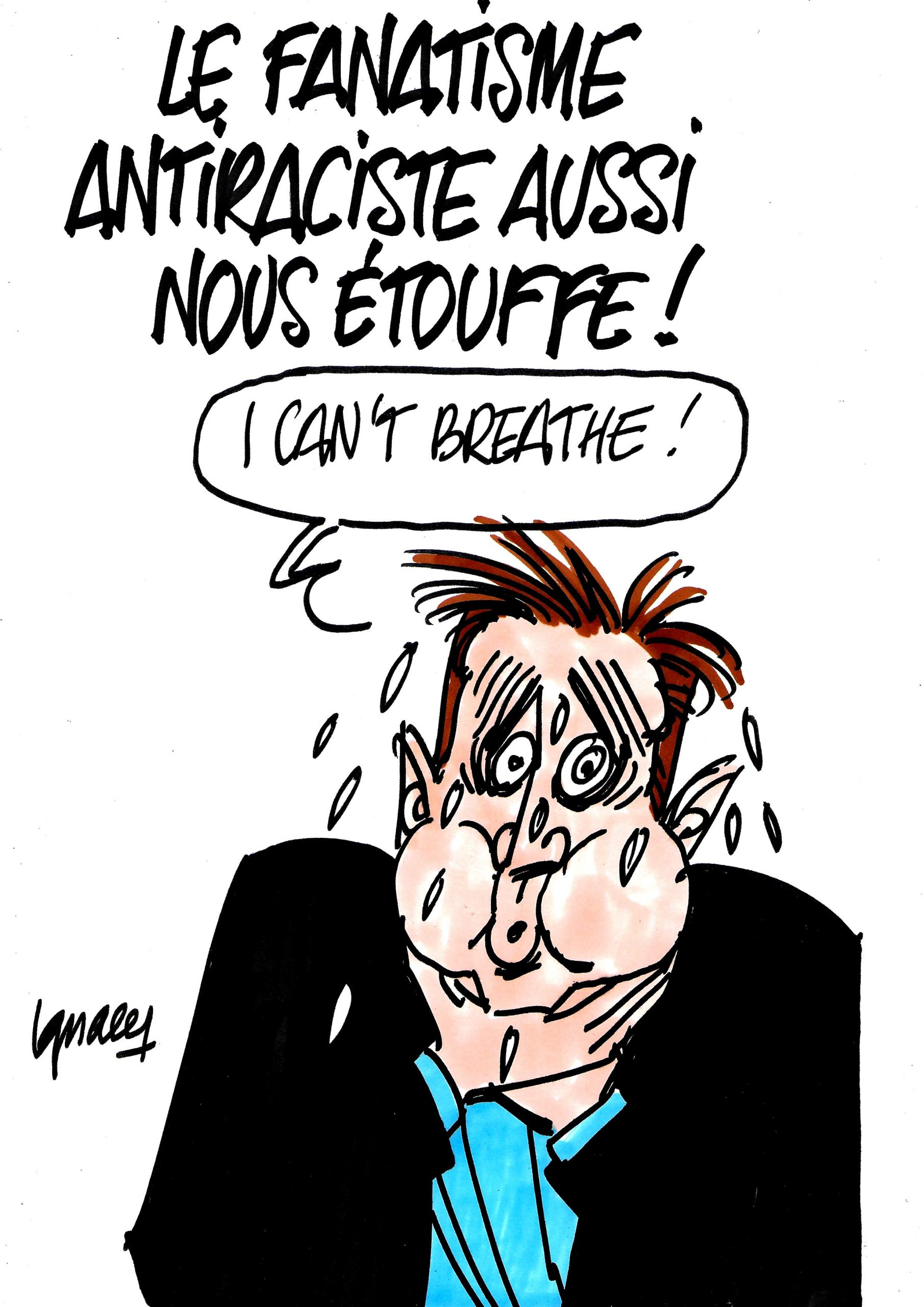 Ignace - Le fanatisme antiraciste aussi nous étouffe !
