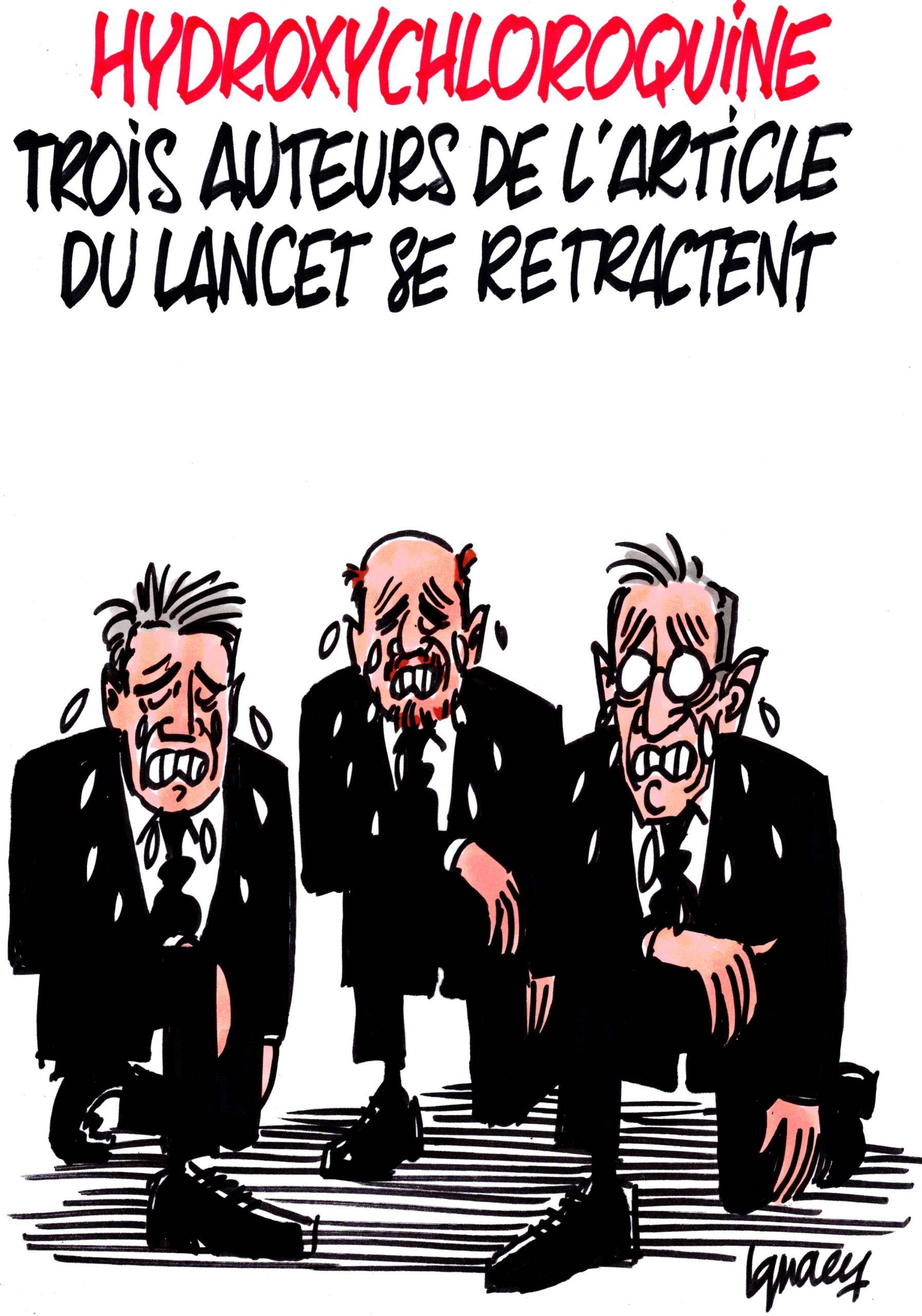 Ignace - Trois auteur de l'article du Lancet se retractent