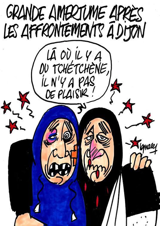 Ignace - Grande amertume après les affrontements à Dijon