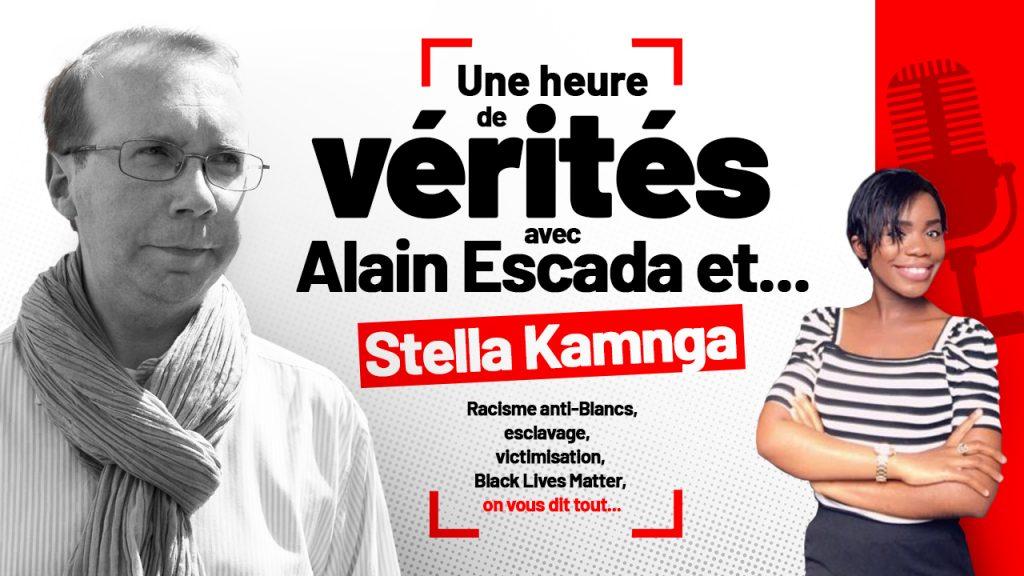 Stella Kamnga répond aux questions d'Alain Escada