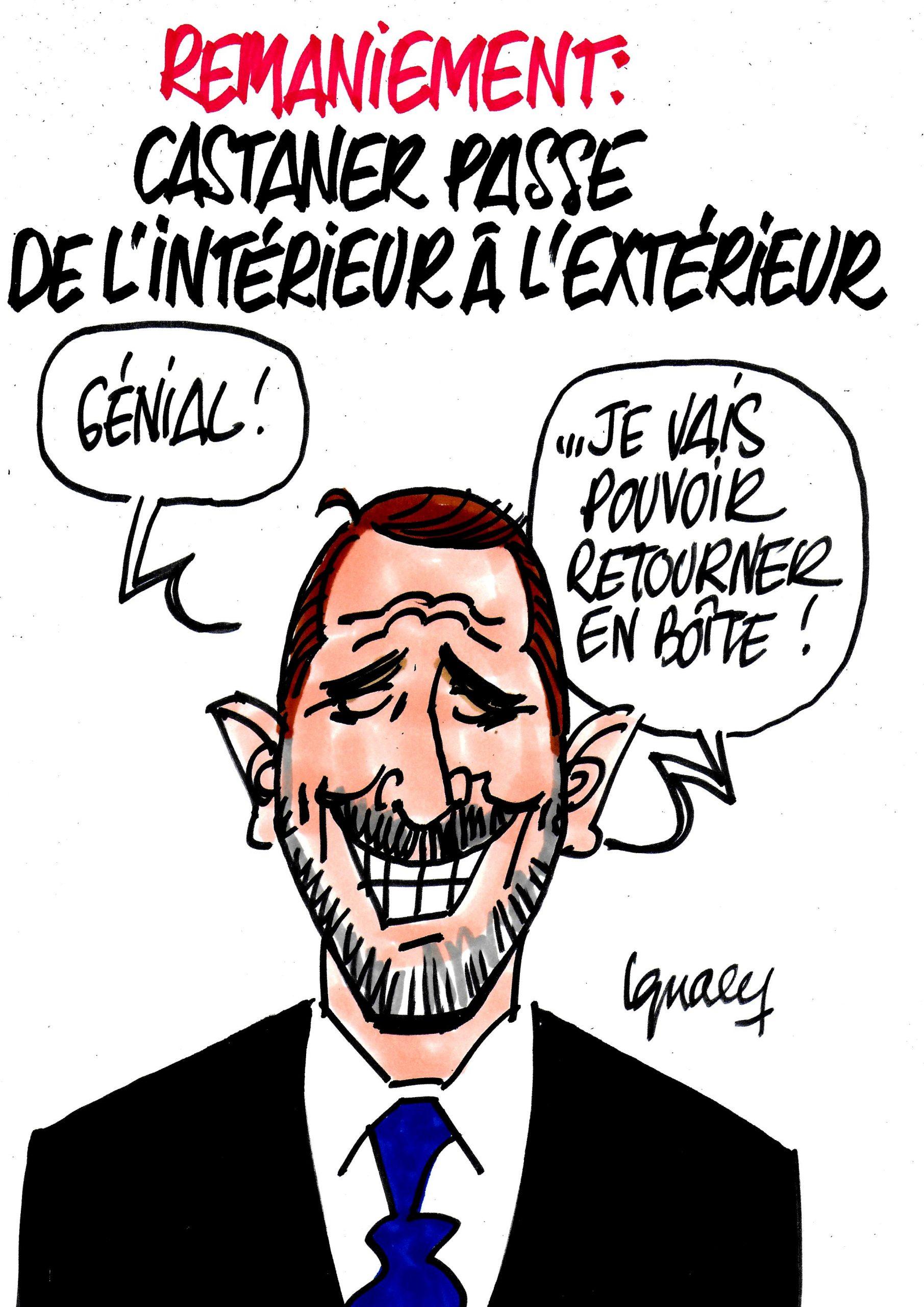 Ignace - Castaner quitte son ministère