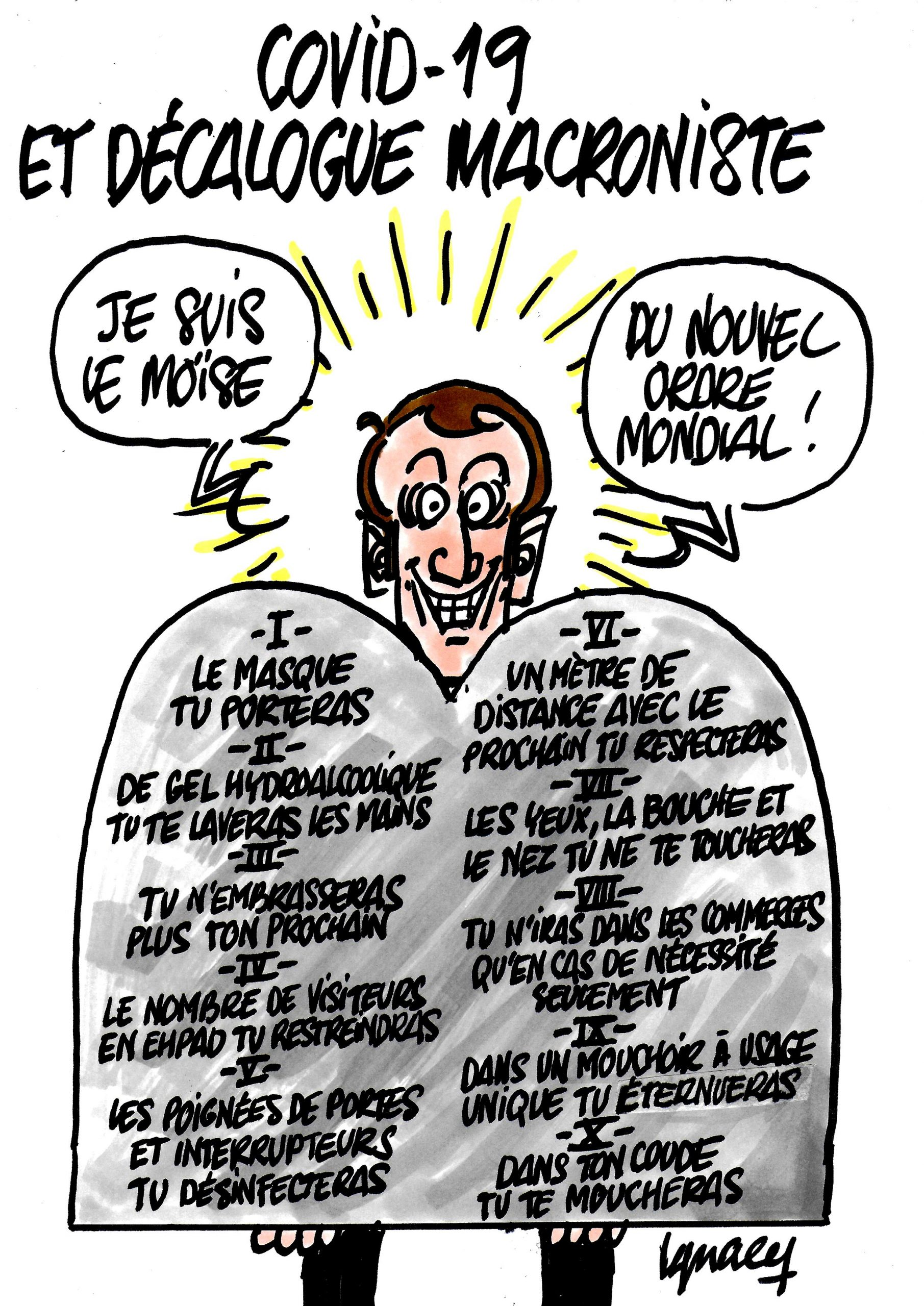 Ignace - Décalogue macroniste