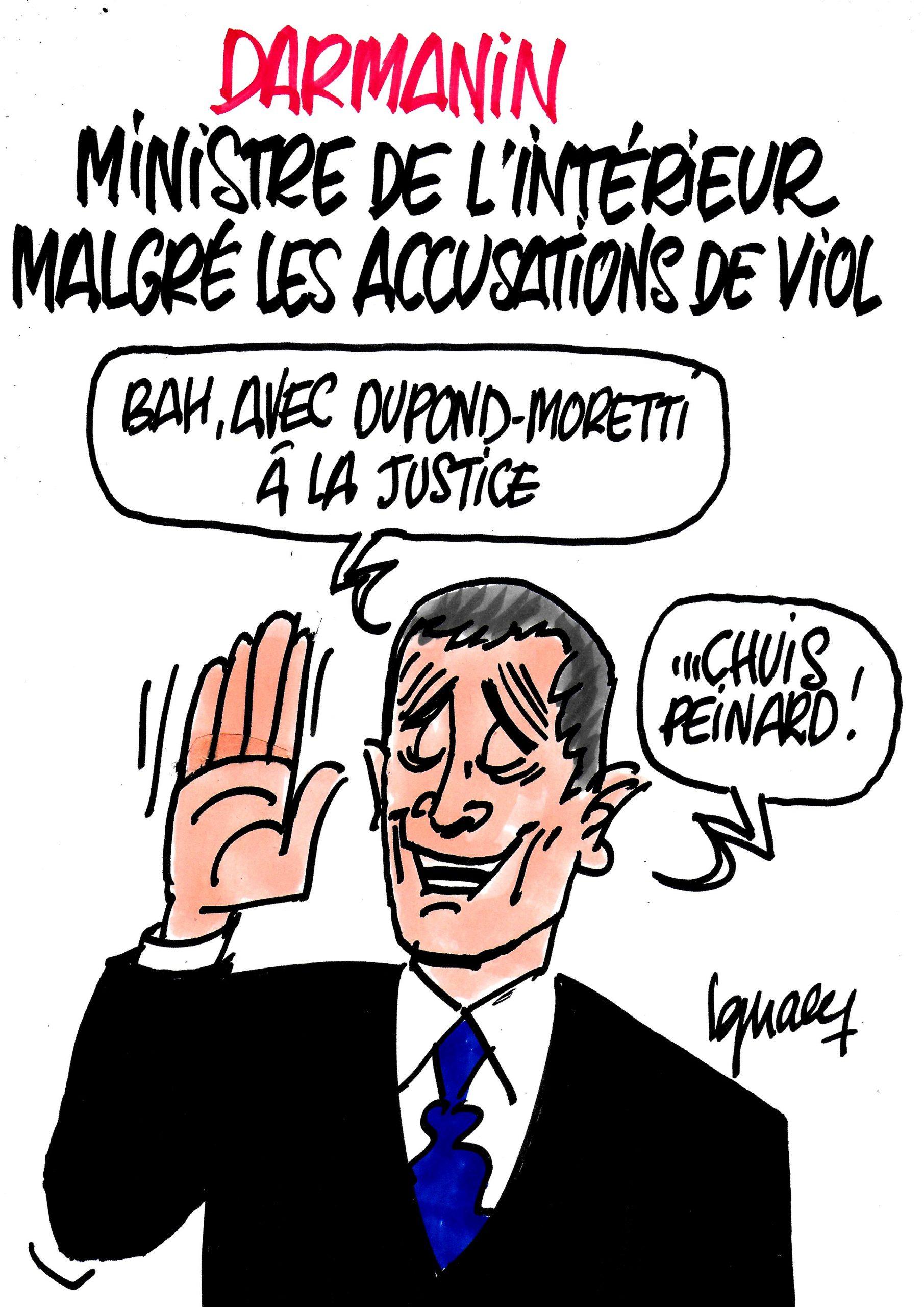 Ignace - Darmanin nommé ministre malgré les accusations de viol