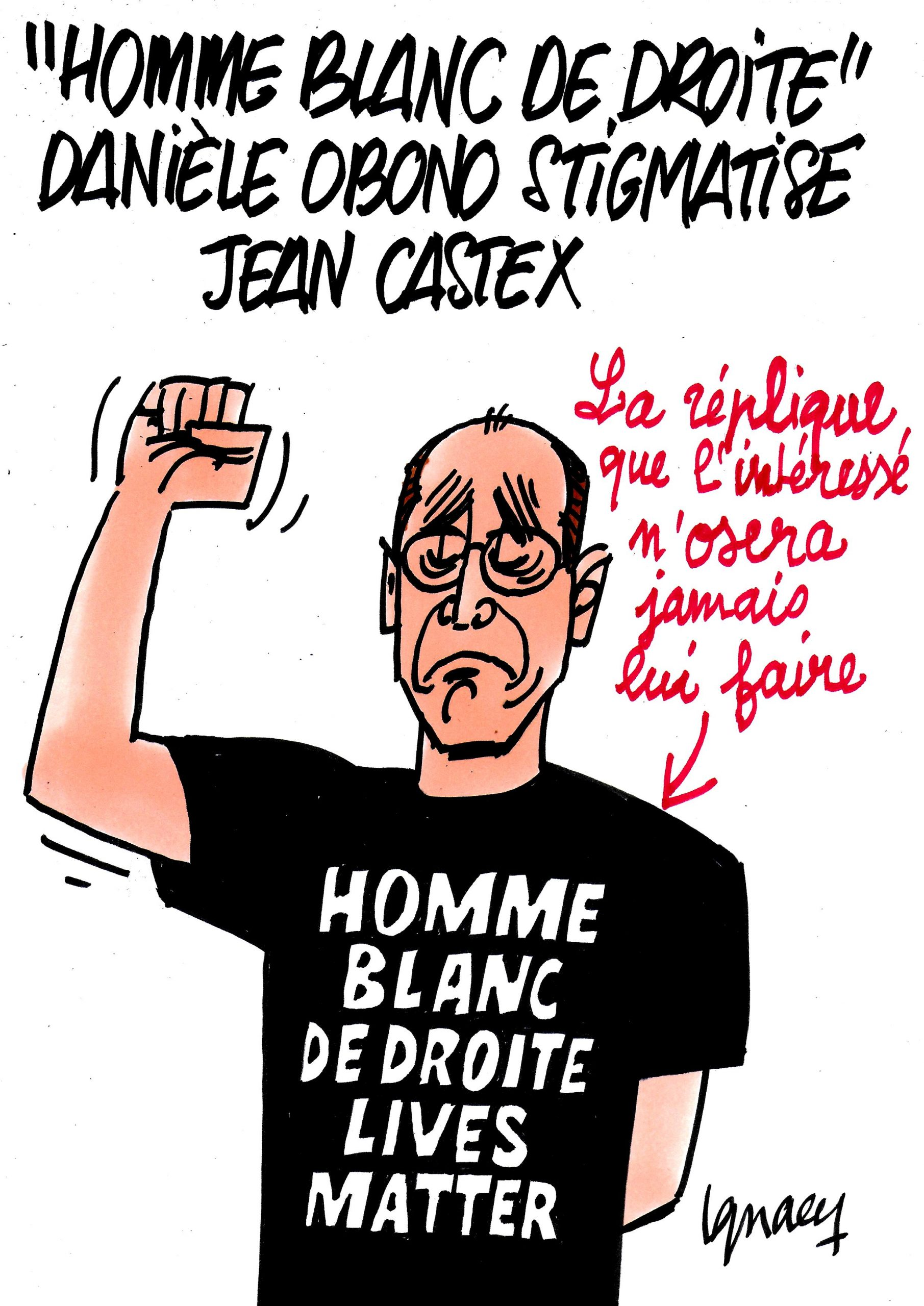 Ignace - Castex stigmatisé par Obono