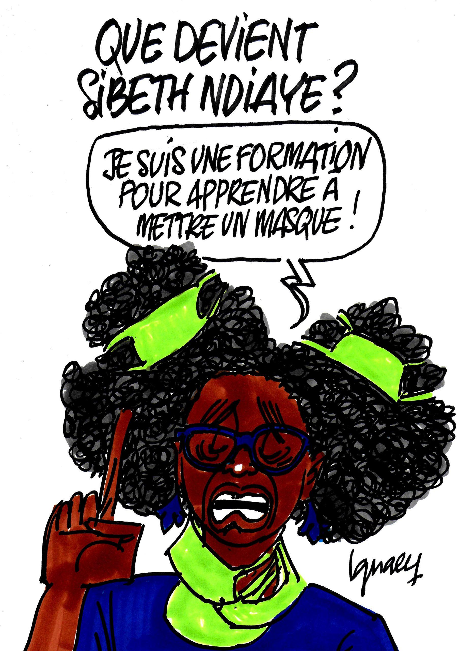 Ignace - Que devient Sibeth Ndiaye ?