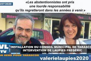 """Frédéric Laupies : """"Les abstentionnistes ont pris une lourde responsabilité qu'ils regretteront dans les années à venir"""""""