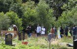 """Attaque au couteau de Glasgow : plusieurs centaines de Soudanais, et de """"migrants"""", assistent aux funérailles du tueur, Badreddin Abadlla Adam"""
