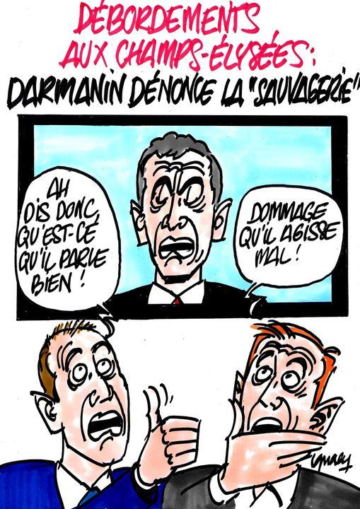Ignace - Débordements aux Champs-Élysées