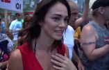 L'actrice Lucie Laurier dénonce la dictature sanitaire et la complicité des médias du système