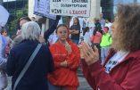 Bruxelles – Manifestation contre la dictature sanitaire dispersée par la police
