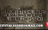 """Action """"Libérez Ryssen"""" menée par Civitas en Haute-Savoie"""