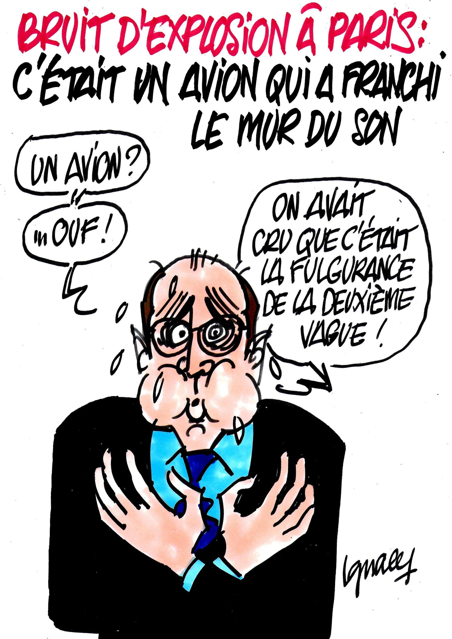 Ignace - Bruit d'explosion à Paris