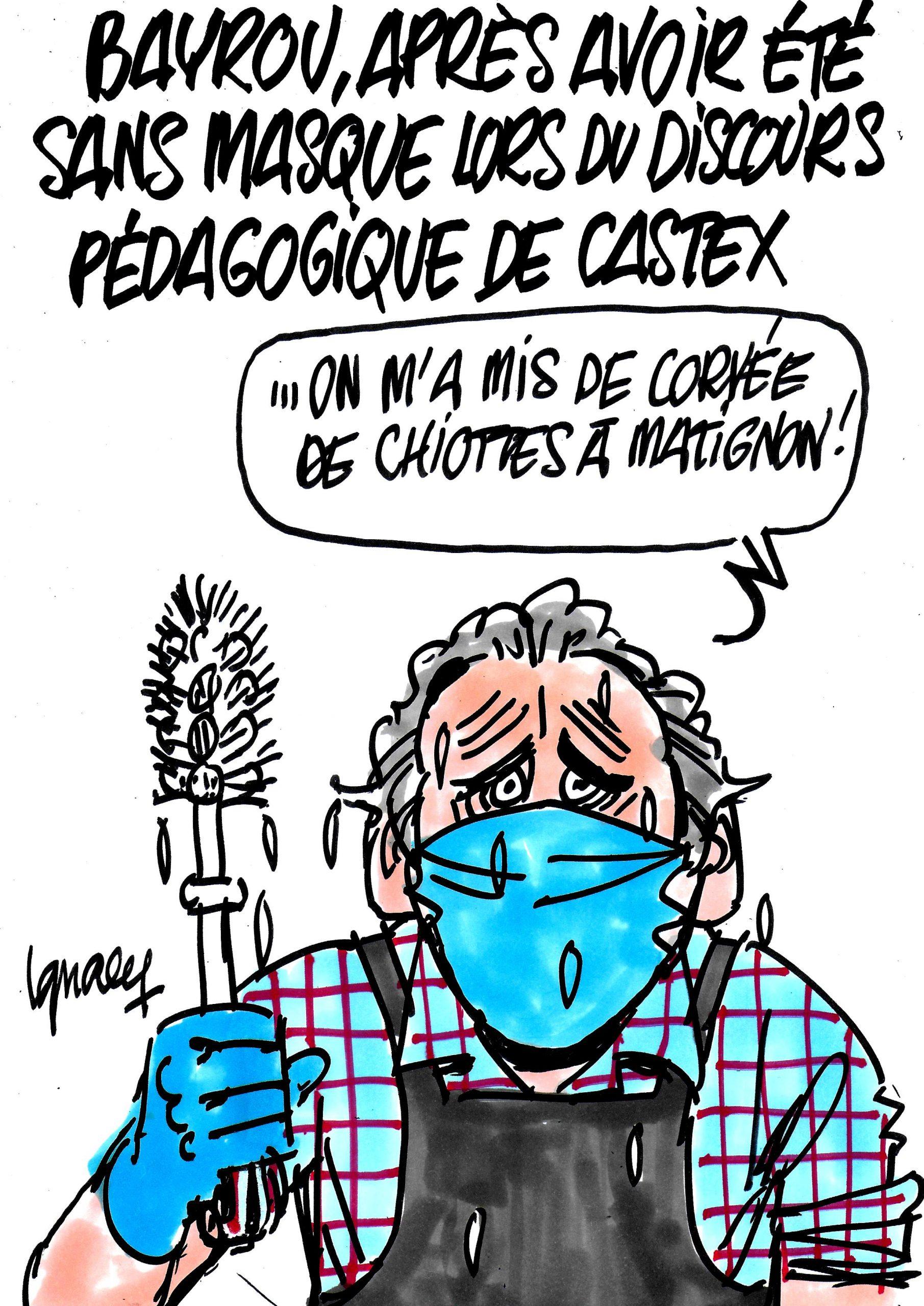 Ignace - Bayrou sans masque, pas sans conséquences