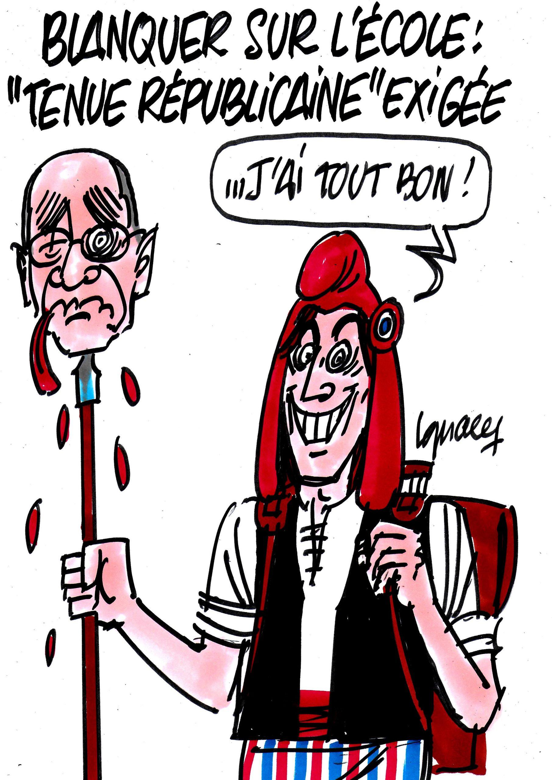 """Ignace - Blanquer et la """"tenue républicaine"""""""