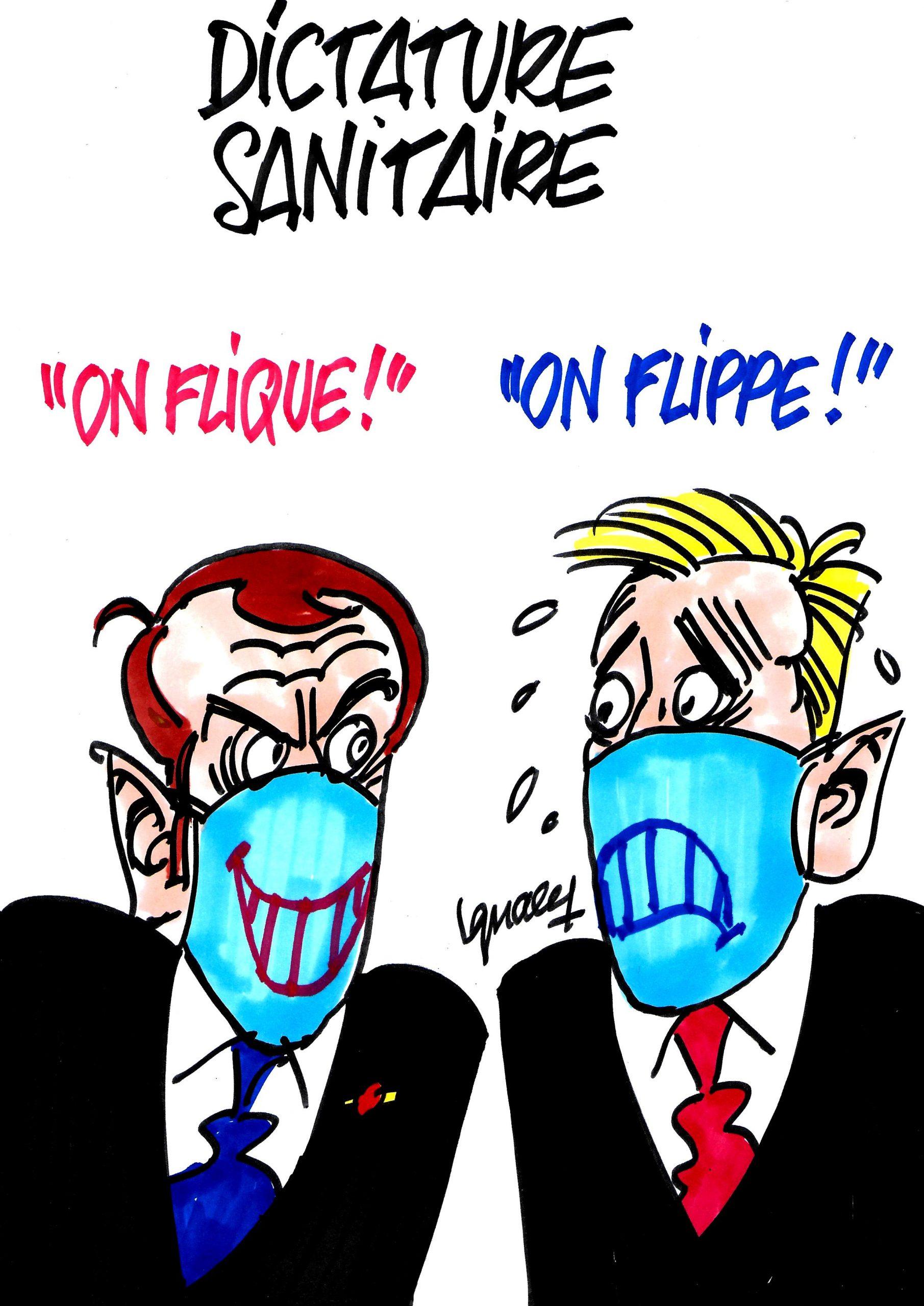 Ignace - Dictature sanitaire