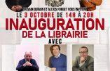 3 octobre 2020 à Nancy : inauguration de la librairie Les Deux Cités