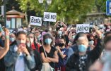 Manifestation à Madrid contre le reconfinement et les restrictions au nom du coronavirus