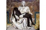 La Pietà de Michelange à la sauce Black Lives Matter : Jésus peint en noir