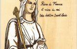 Portrait de Blanche de Castille