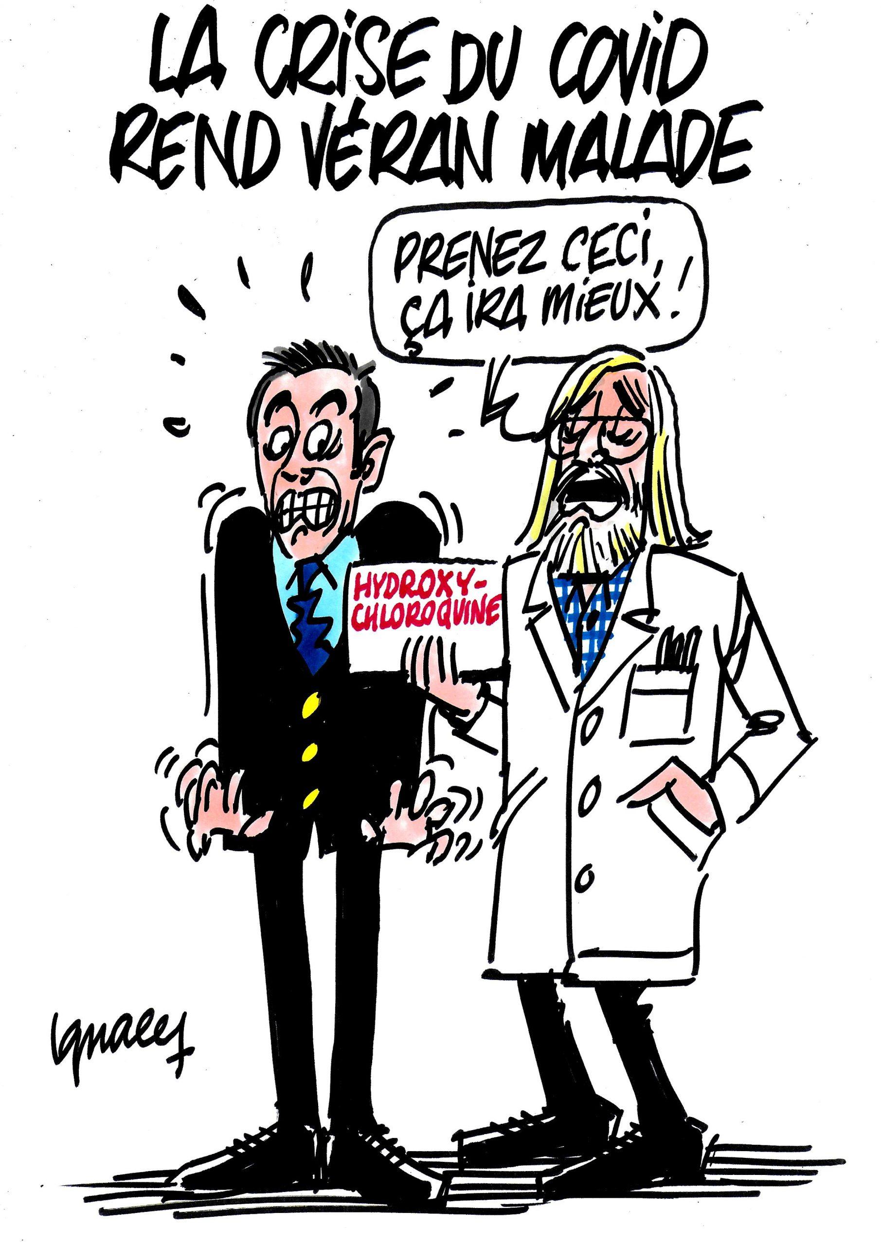 Ignace - La crise du covid rend Véran malade