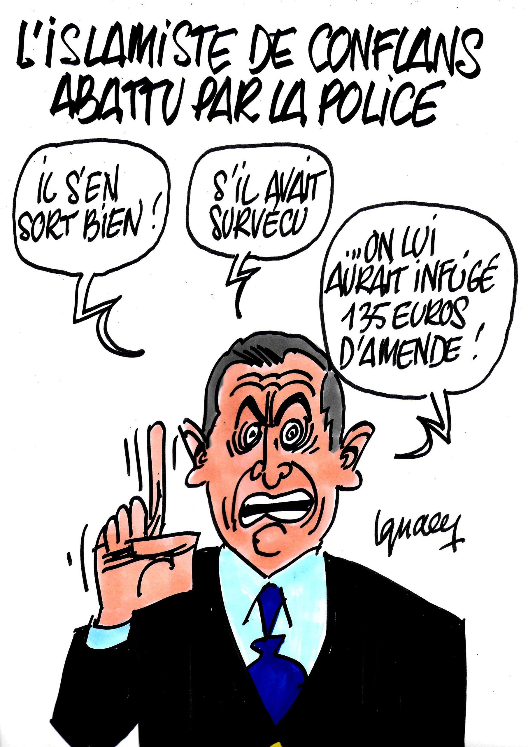 Ignace - L'islamiste de Conflans abattu par la police